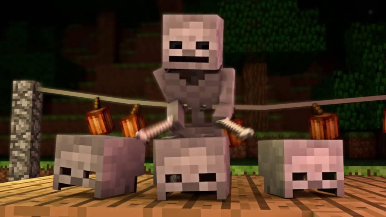 Halloween Mob-Party - Minecraft Animation - FrediSaalAnimations ...