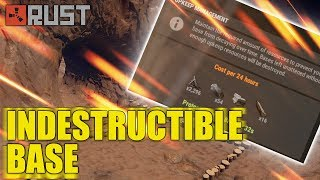 """Rust - """"INDESTRUCTIBLE"""" base - tutorial for pro and newbie"""