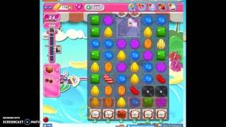 Candy Crush Level 1162 help w/audio tips, hints, tricks