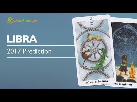 Libra 2017 Forecast | Life will turn with the Wheel of Fortune