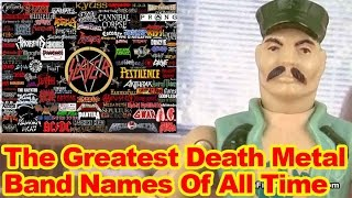 Best Death Metal Band Names Ever - Action Figure Therapy