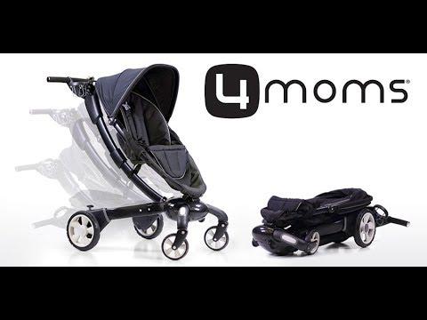 4moms Origami Stroller Fully Automatic Power Folding Pram Youtube