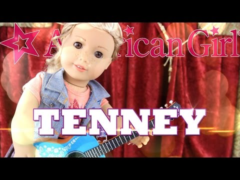 Unbox Daily: American Girl Tenney Grant - Doll Review - 4K