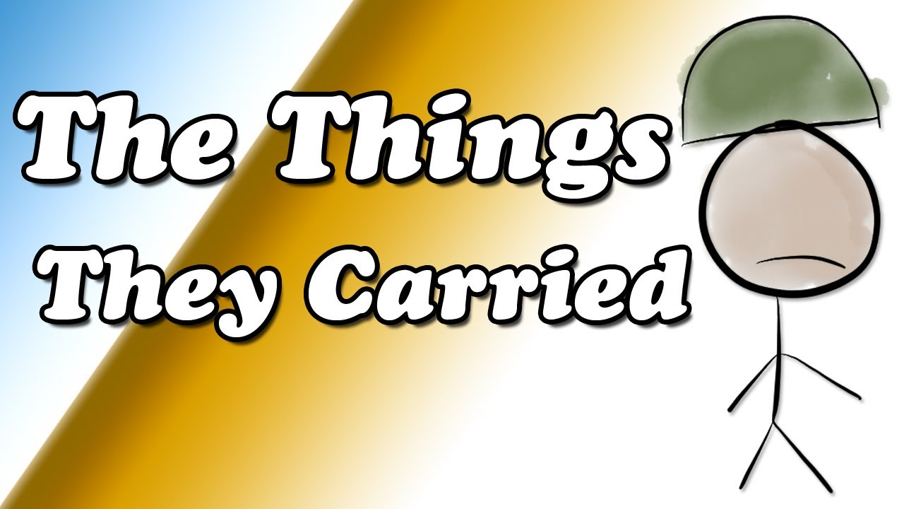 The Things They Carried By Tim Obrien Summary And Review  Minute  The Things They Carried By Tim Obrien Summary And Review  Minute Book  Report  Youtube