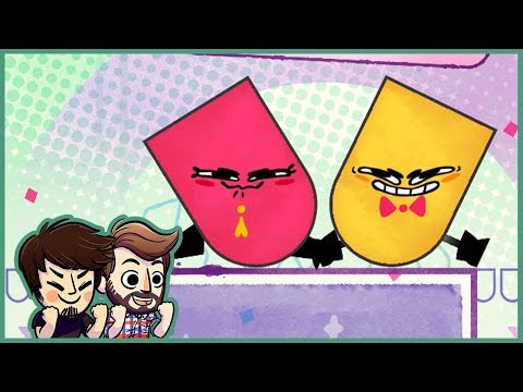 WE'RE BACK!! | Snipperclips PLUS (Part 1)