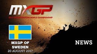 NEWS Highlights - MXGP of Sweden 2017 #motocross