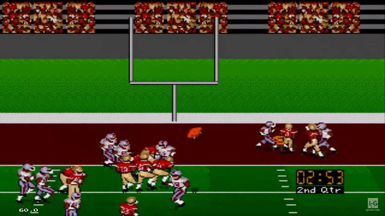 Bill Walsh College Football 95 Sega Genesis Gameplay Hd Youtube