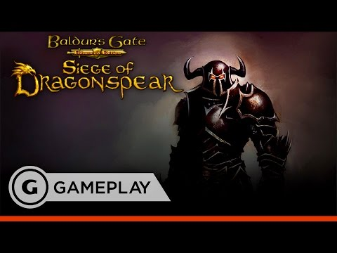 Baldur's Gate: Siege of Dragonspear - Changing from Easy to Insane Difficulty Gameplay