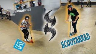 CODY FLOM X SCOOTER BRAD | swap scoot!