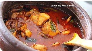 Spicy Kerala Chicken Curry (നാടൻ രീതി)- chinnuz