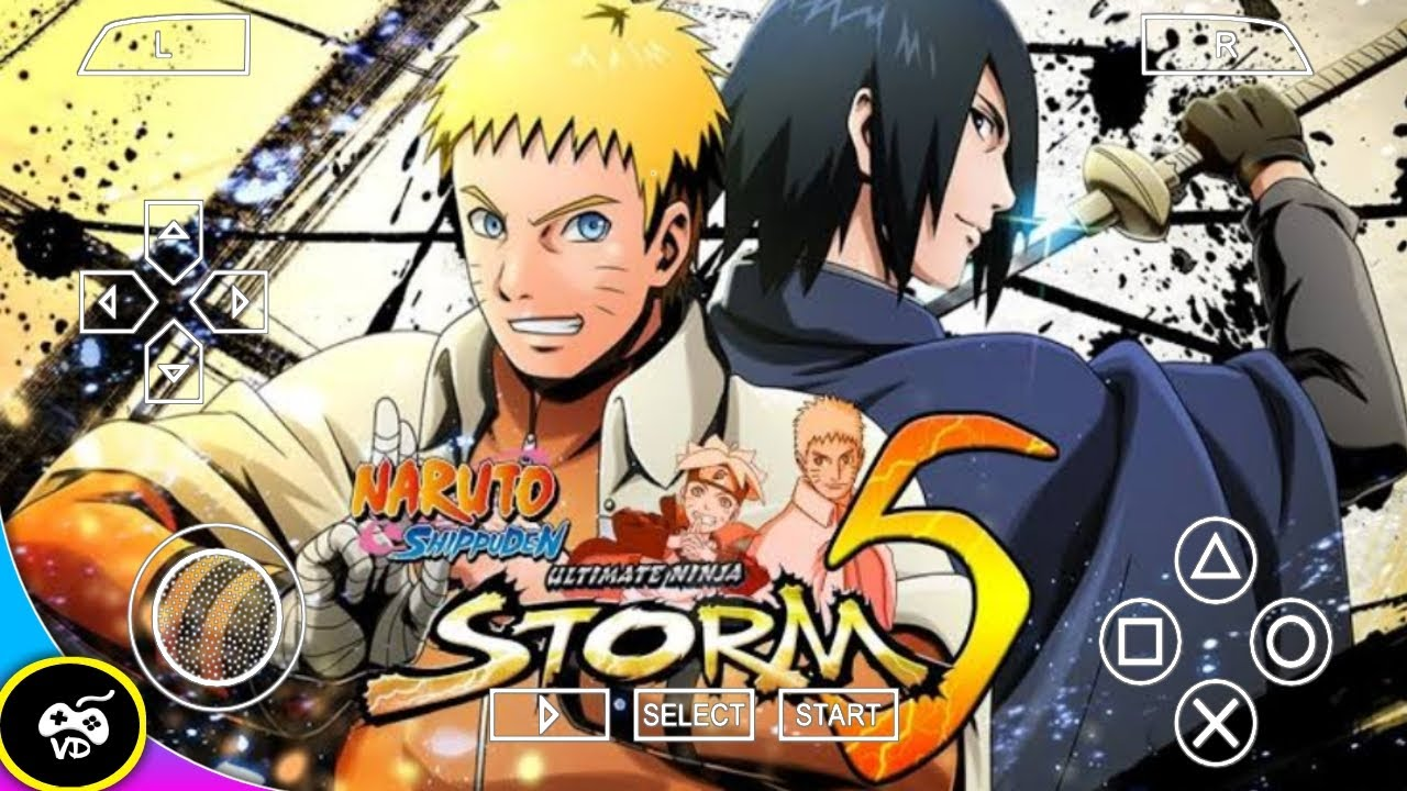 Naruto Ultimate Ninja Storm 5 Psp Games 70 Mb For Android Ios Pc High Graphics Game Naruto Ppsspp Youtube