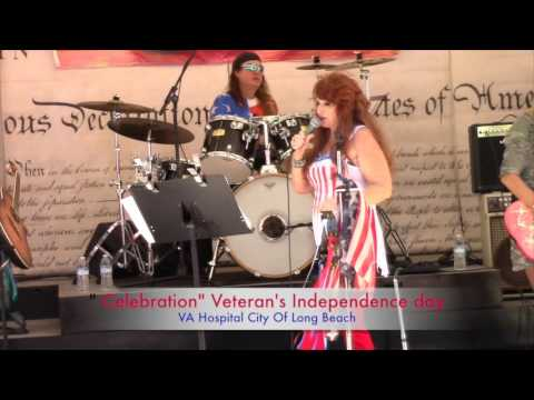 VA HOSPITAL LONG BEACH CELEBRATION 4th OF LULY 2016