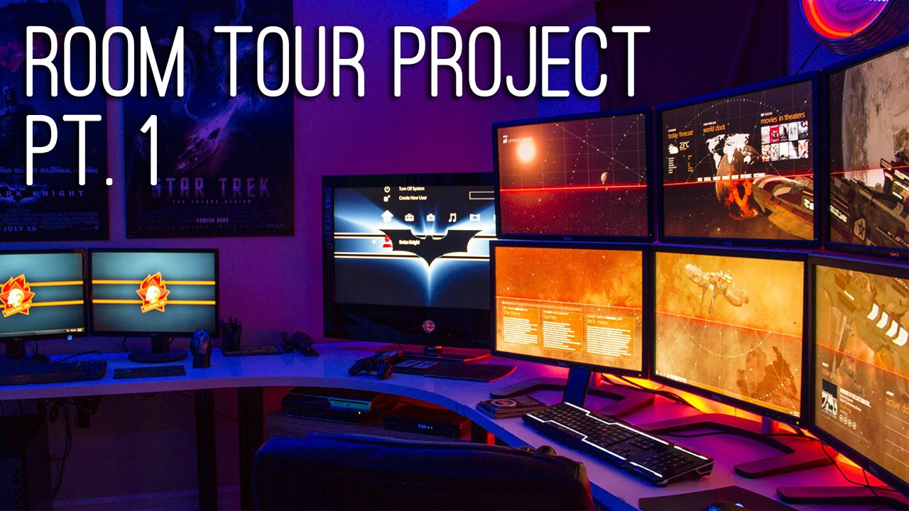 Room Tour Project Best Gaming Setups Amp Battlestations Ep