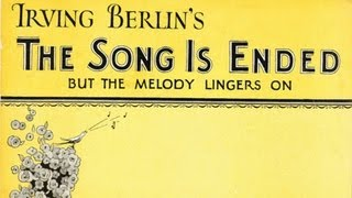 Regent Club Orchestra - The Song is Ended (1927)