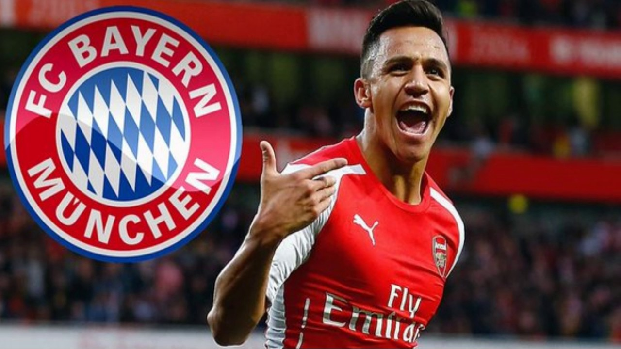 arsenal 39 s alexis sanchez to join bayern munich youtube. Black Bedroom Furniture Sets. Home Design Ideas