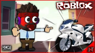 ROBLOX Indonesia #161 Vehicle Simulator | Finally it can be again but Kok ya???