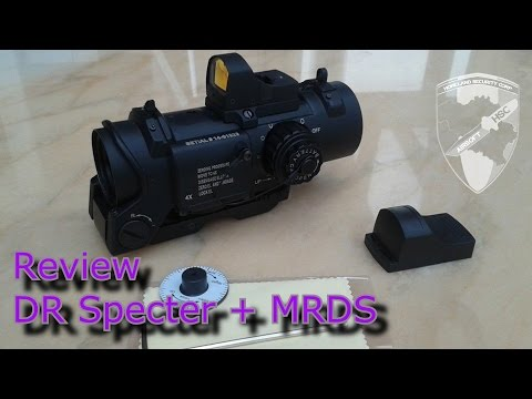 Review Specter Dr + MRDS