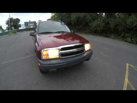 4K Review  2003 Chevrolet Tracker 2.0L L4 4WD Virtual Test-Drive & Walk-around