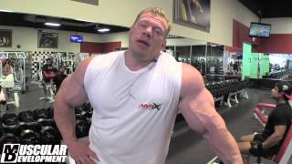 Dennis Wolf: In the Trenches - Arm Training