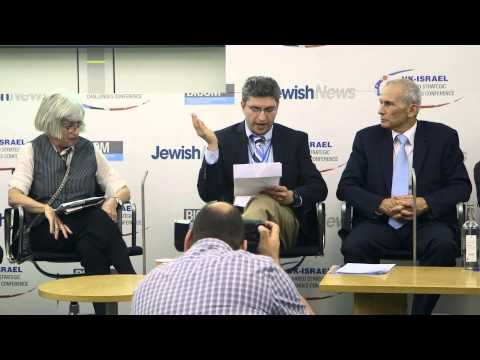 Two-state solution panel at Jewish News UK-Israel Conference