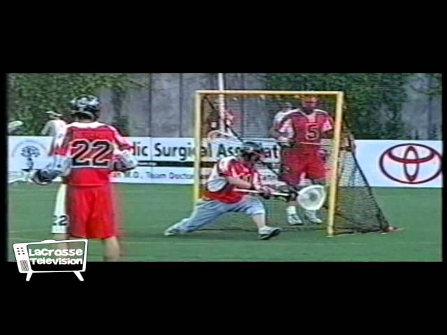 Mark Millon MLL lacrosse Highlights