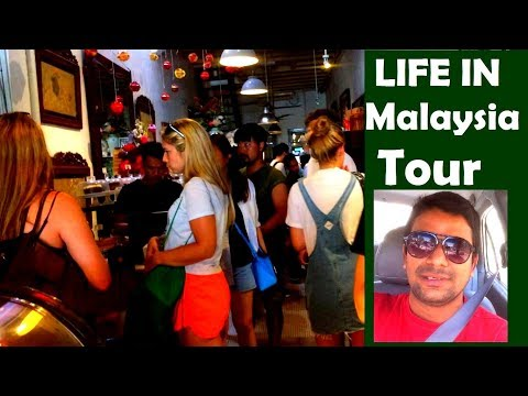 Life Style and City Tour Penang Malaysia, Little India, Deepak Online Partner Vlog
