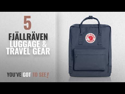 Top 10 Fjällräven Luggage & Travel Gear [2018]: Fjallraven - Kanken Classic Pack, Heritage and