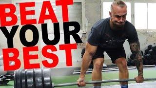 200kg Deadlift Rekord? No pain, no gain...