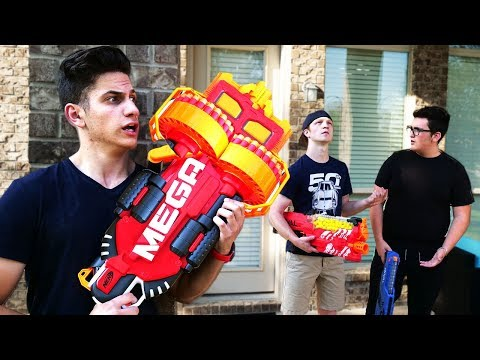 EXTREME NERF WAR: First Person Shooter… With UnspeakableGaming!