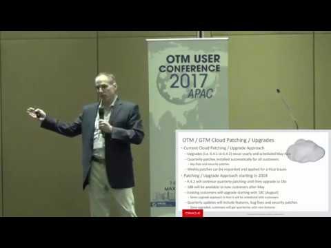OTM SIG User Conference 2017 APAC: Presentations - OTMFAQ