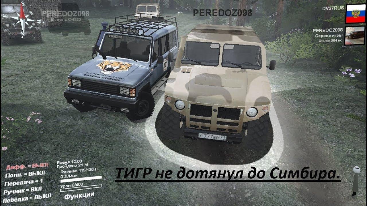 Новый ГАЗ Тигр - YouTube