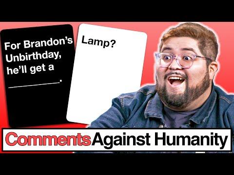 Definitely NOT Brandon's Birthday   Comments Against Humanity