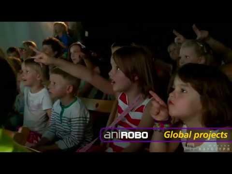 2014 ANIROBO Interactive Character Show Reel