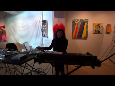 Kataryna Kopelevich at the Luggage Store Gallery, 5/18/2017
