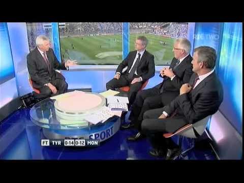 Joe Brolly on GAA - Tell the children to play tennis