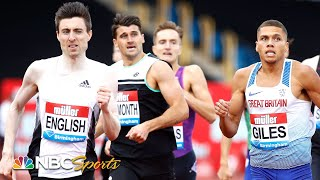 Mark English's furious late move delivers 800m Diamond League victory | NBC Sports