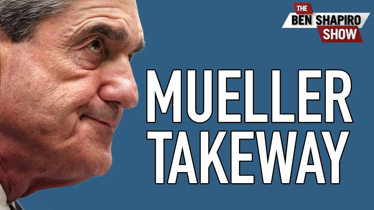 The Key Takeaway From Mueller Hearing