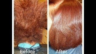 Show & Tell: Blow Out on Natural Hair and Custom Color