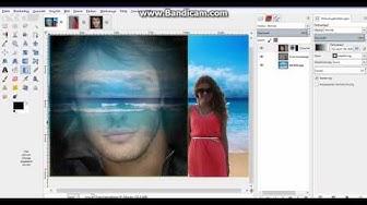 Romeo und Julia in der Karibik oder: Mit Gimp mehrere Bilder zu einem verschmelzen