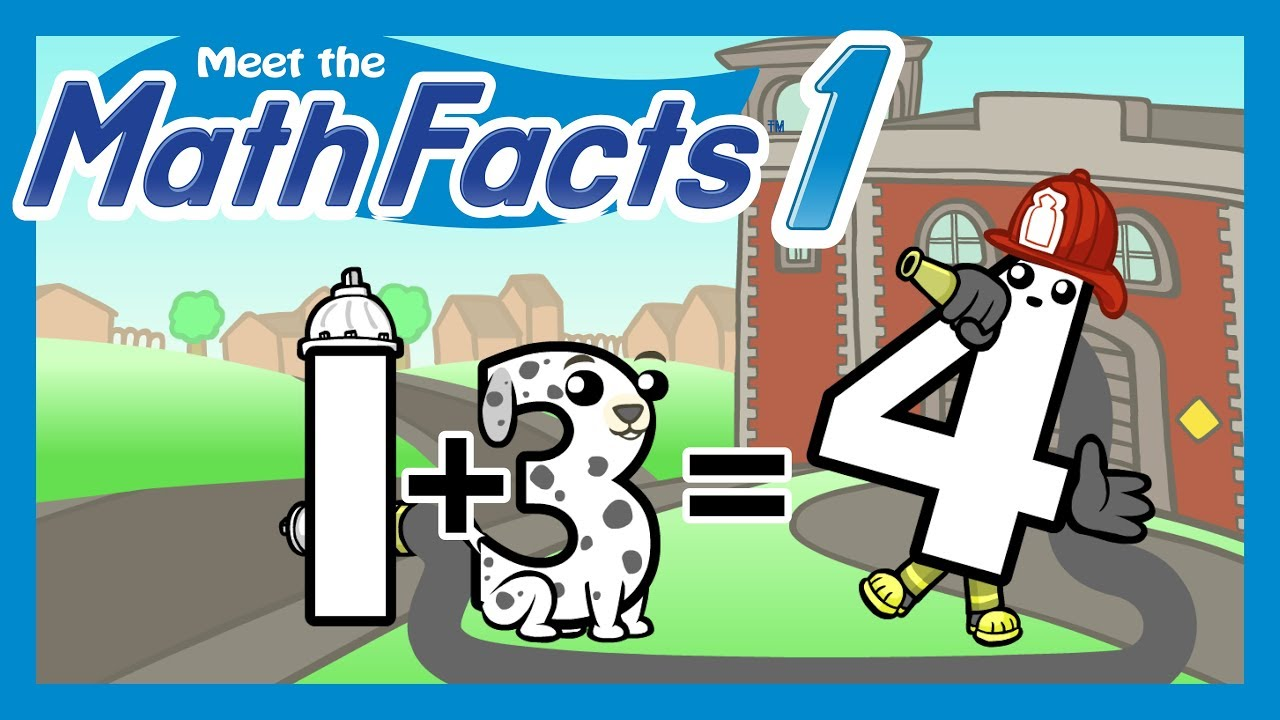 Meet the Math Facts:  - Adding and subtracting basic equations by sight is essential to a solid math foundation.