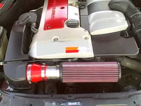 C230 Kompressor - Cold Air Intake