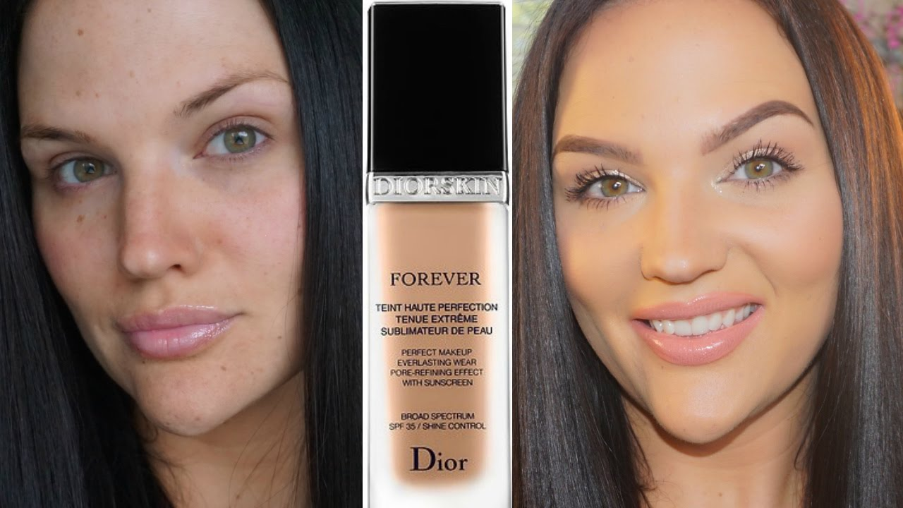 dior forever perfect foundation review demo youtube. Black Bedroom Furniture Sets. Home Design Ideas