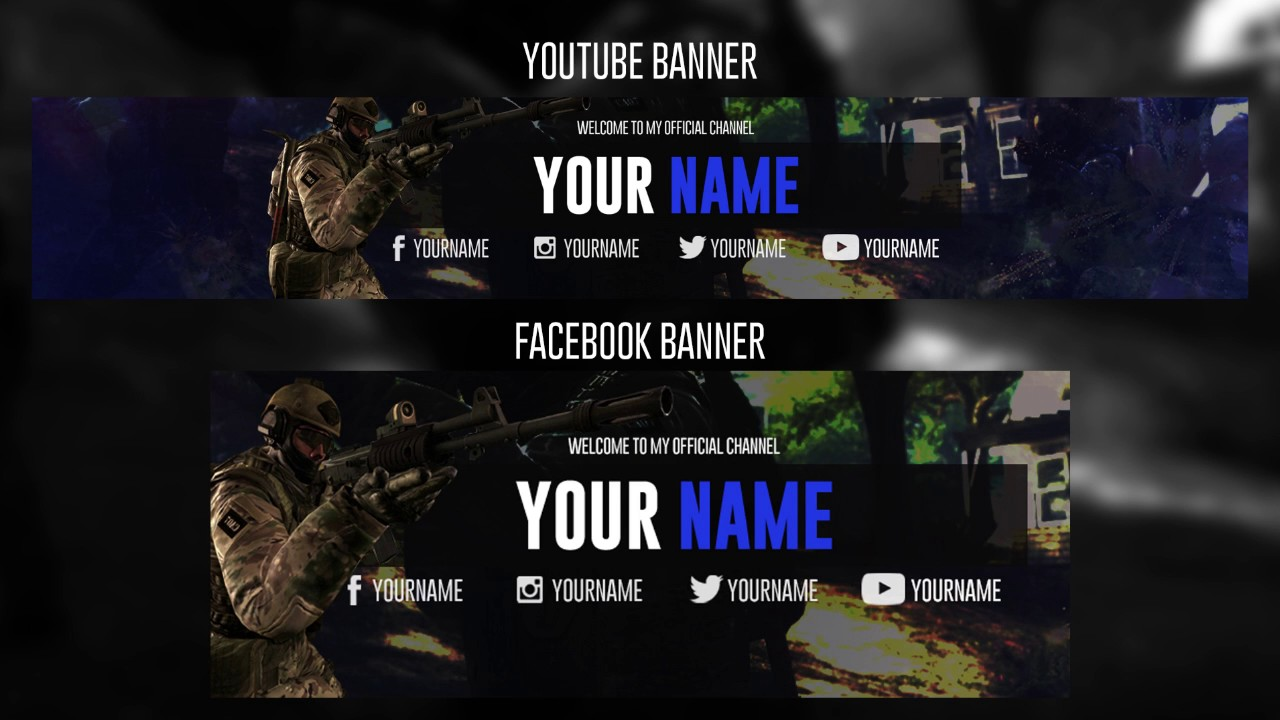 Darmowy Baner Youtube Csgofree Youtube Banner Csgo 2 072018 By