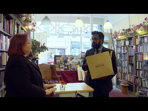 Romesh Ranganathan sells his own childrens book - The Apprentice: Youre Fired (2015) - BBC