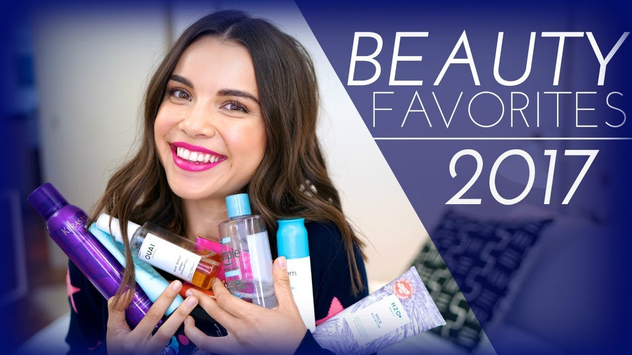 2017 Beauty Favorites! | Ingrid Nilsen