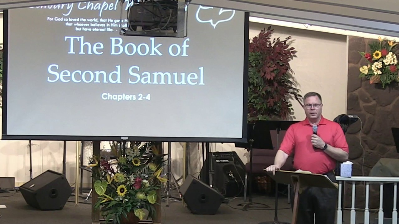 17 October 2018 | CCWO Midweek study in 2 Samuel 2-4 | Pastor Dan Jacobson