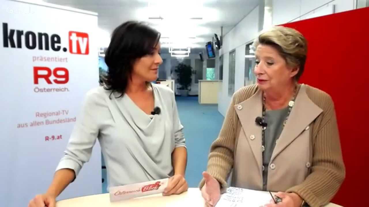 Ursula Stenzel Live Im Krone Talk Youtube
