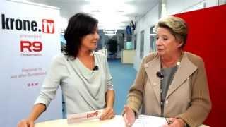 """Ursula Stenzel Live Im """"krone""""-talk!"""
