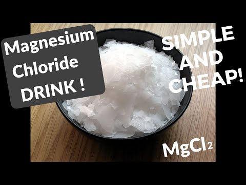 Magnesium Chloride Benefits – Cheap, Simple And Best Solution That Exist – WATCH THIS!