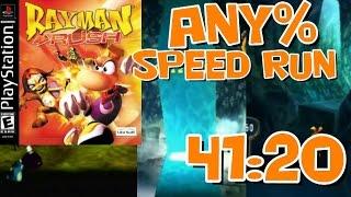 Rayman Rush Any% Speed Run World Record in 41:20